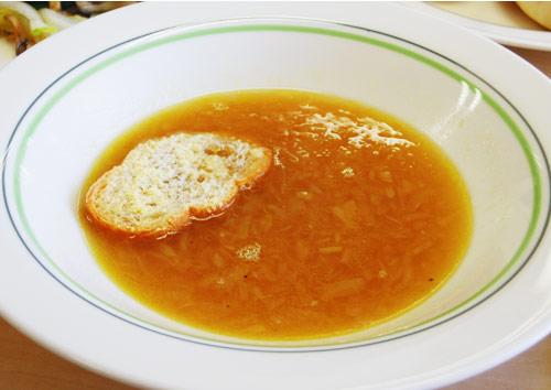 軽いオニオングラタンスープ