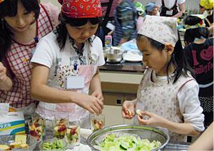 料理教室風景